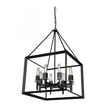 ac10069 vineyard 8 lt cage chandelier