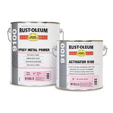 Rust Oleum 9170 9180 Epoxy Metal Primer