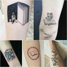 тату книга идеи татуировки для любителей чтения Tattoo Ideasru