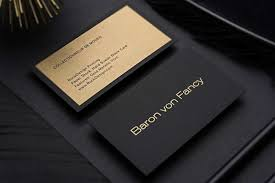 Buiness Card Hard Suede Business Cards
