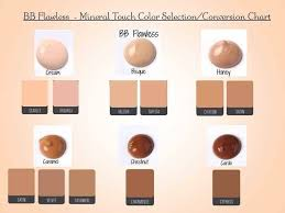 Bb Cream Color Chart Younique Bb Flawless Complexion