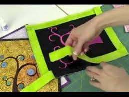 Quilt Binding Connecting the Ends - YouTube & Quilt Binding Connecting the Ends Adamdwight.com
