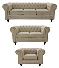 fabric chesterfield sofa. Brilliant Fabric US Pride Furniture S50713PC Linen Fabric Chesterfield Sofa Set Beige Throughout I