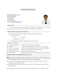a curriculum vitae format inspiration handwritten resume format about letter format â
