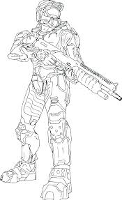 Spartan Coloring Pages Free Online Halo Coloring Pages Halo Coloring