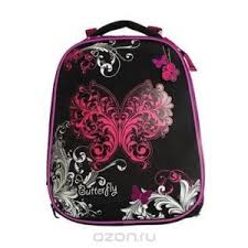 <b>Ранец школьный Hatber</b> Butterfly NRk_50692 - «Рюкзак (<b>Ранец</b> ...