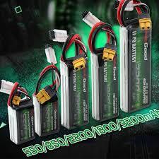 <b>SoloGood Lipo Battery</b> 2S 3S 4S 7.4V 11.1V 14.8V 550mAh ...