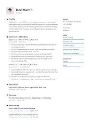 Doorman Resume Templates 2019 Free Download Resume Io