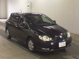 2001 Toyota Allex XS150 S EDITION | Japanese Used Cars Auction ...