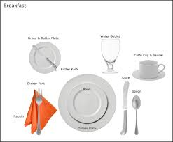 formal breakfast table setting. Table Setting Guides At Our Party Rental Store In San Jose CA | Equipment Santa Clara CA, Jose, Los Gatos, Campbell, Formal Breakfast F