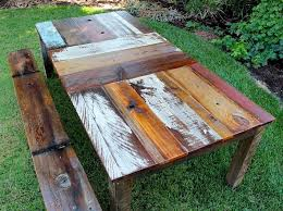 extraordinary reclaimed wood dining table diy 22 rustic