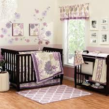 marvellous purple baby bedding crib sets purple baby girl crib bedding sets