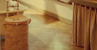 how to remove hard water stains from bathroom floors