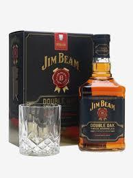 jim beam double oak gift set the whisky exchange