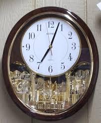 ... Charming Oval Wall Clocks Clocks For Sale Brown Oval Clock Analog Clock  Quartz Clock ...