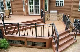 wolf composite decking. Wonderful Wolf WOLF Decking In Amberwood And Rosewood With Wolf Composite P