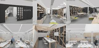 Office Design Interior Enchanting Renderings Of The New Quartz Office The Office