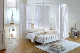 decoration: Ikea White Queen Canopy Bed Frame Full. White Canopy Bed ...