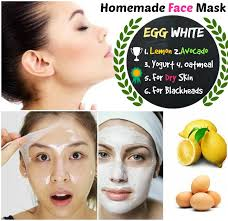 diy homemade egg white face mask for young and soft skin
