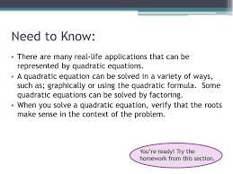 examples of real life s quadratic equations jennarocca