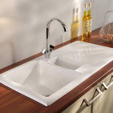 white kitchen sink with drainboard. Full Size Of Kitchen:porcelain Sinks Pros And Cons Undermount Kitchen High Back Farmhouse White Sink With Drainboard