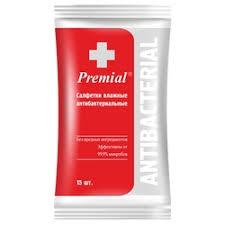<b>Влажные салфетки Premial</b> — купить на Яндекс.Маркете