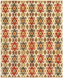 a red green yellow and ivory rug carpet available through david e