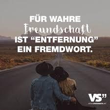 Fuer Wahre Freundschaft Ist Entfernung Ein Fremdwort German