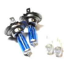 Lotus Elise S2 H7 501 55w Ice Blue Xenon Hid Lowled Trade Side Light Bulbs Set Ebay
