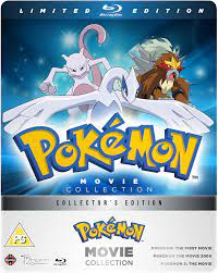 Pokemon Movie 1-3 Collection - Limited Edition Blu-ray Steelbook:  Amazon.co.uk: Ikue Ohtani, Veronica Taylor, Jay Goede, Rachael Lillis, Eric  Stuart, Madeleine Blaustein, Kunihiko Yuyama, Ikue Ohtani, Veronica Taylor:  DVD & Blu-ray
