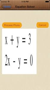 solve4x math equation solver app image