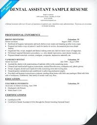 Orthodontic Assistant Resume Sample Orthodontist Assistant Resume Thrifdecorblog Com
