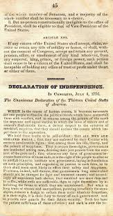 the original th article of amendment constitution 1825 manuscript title page missing 13th amendment
