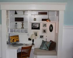 creating office space. Closet Office Space Creating