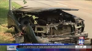 Horrific Car Crash Injures 4 in North Little Rock