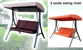 swing seat cover 2 chair outdoor canopy garden with stand dawson wicker basket swi