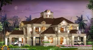 Bedroom : 5. Bathroom : 7. Design Style : Colonial Style. Luxury Villa In  Kerala