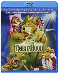 robin hood 40th anniversary edition blu ray dvd digital copy