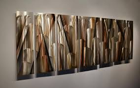 large metal art elegant wall panels contemporary abstract dv8 for amazing residence abstract metal art wall decor designs