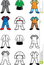 career costumes coloring book stock illustration image  career costumes coloring book