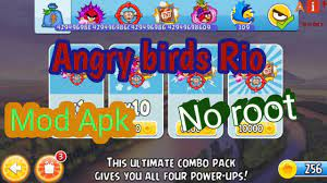 Angry birds Rio mod Apk no root/by Allinhindi - YouTube