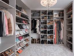 Wall in wardrobe Loft Conversion Get Stylish Storage With This Stonegrey Walkin Wardrobe With Fullheight Shoe Cascade Handy Pigeon Hole Shelving And Handbag Display Shelving Property Price Advice Create Walkin Wardrobe Without Blowing Your Budget Property