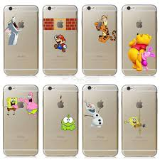apple phone case. fundas for apple iphone 6 6s case transparent hand grasp tom cat spongebob iphone the logo cell phone cases cover-in fitted from