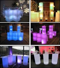 Glow Furniture Illuminated Glow Products For Events And Productions