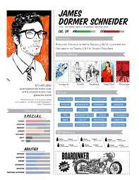 graphic resume — boardinker