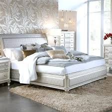Bedroom Set Bling End Tables Game Bed Tufted From Coaster King ...