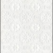 white wallpaper design texture. Plain White Anaglypta Supaglypta Spencer Floral Paintable Wallcovering By Burke Decor   To White Wallpaper Design Texture S
