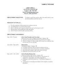 Sample Resume Objective Statements For Customer Service Example Resume Objective Statement Thrifdecorblog Com