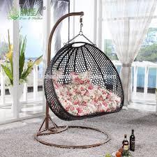 Birds Nest Bed Indoor Outdoor Patio Garden Living Room Rattan Wicker Bird Nest