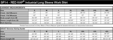 Red Kap Industrial Long Sleeve Work Shirt